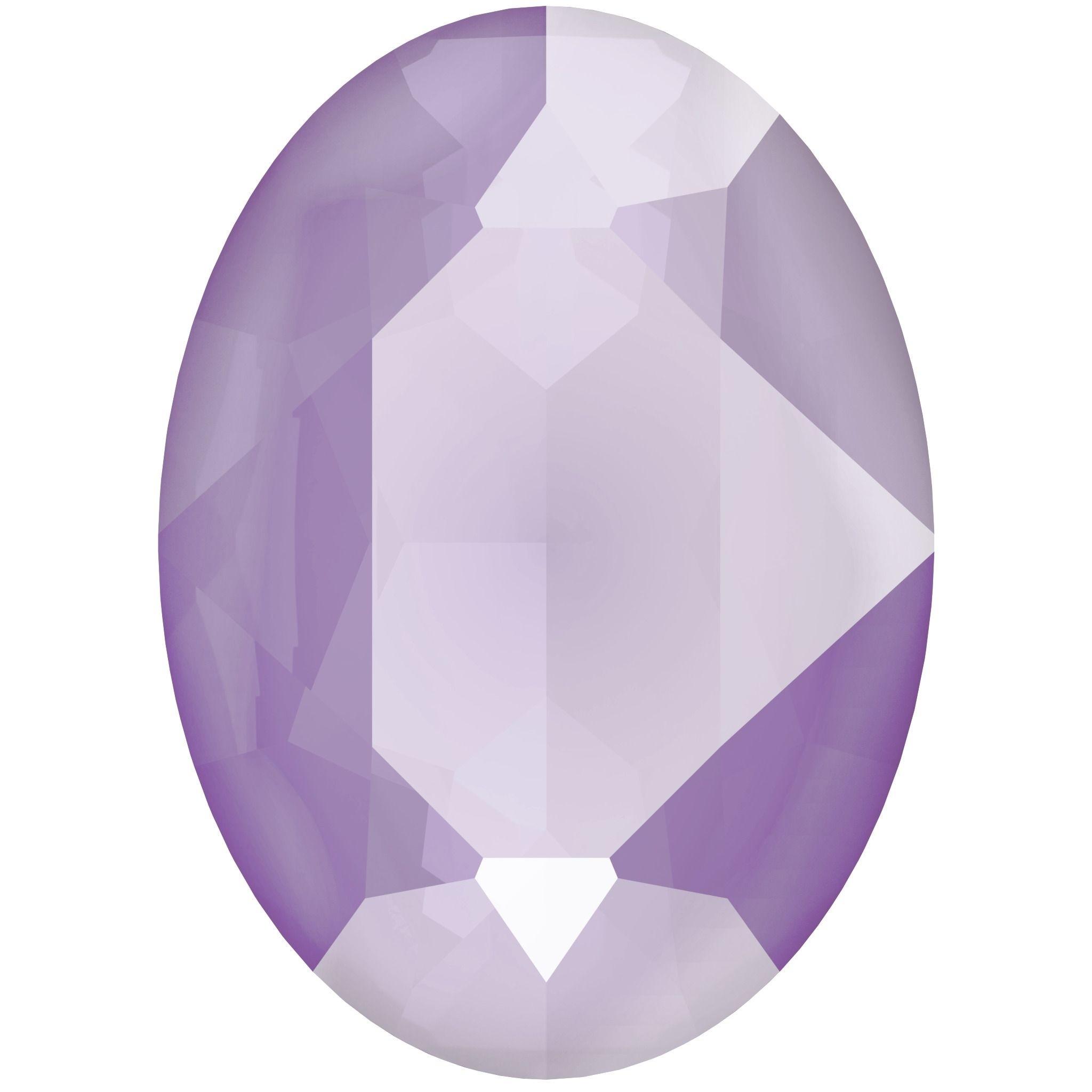 Oval 18x13mm Crystal Lilac