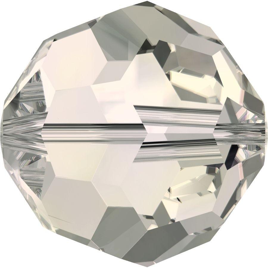 Round Perle (Großloch) 4mm Crystal Moonlight