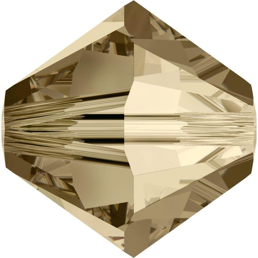 Xilion Perle 8mm Crystal Golden Shadow