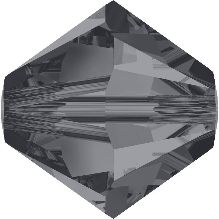 Xilion Perle 4mm Crystal Silver Night