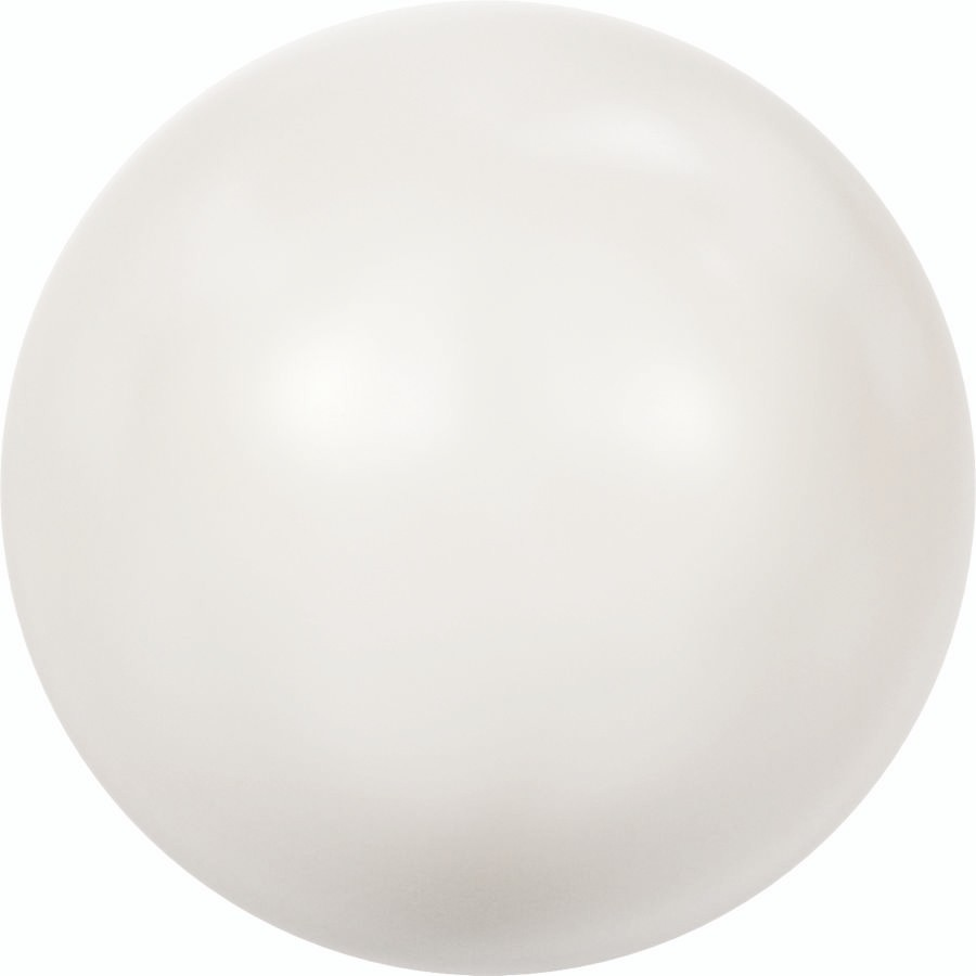 Crystal Round Peal 2mm Crystal White Pearl