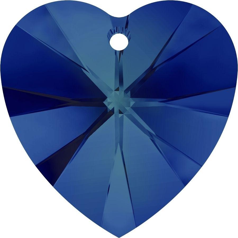 Xilion Heart Anhänger 14.4x14mm Crystal Bermuda Blue