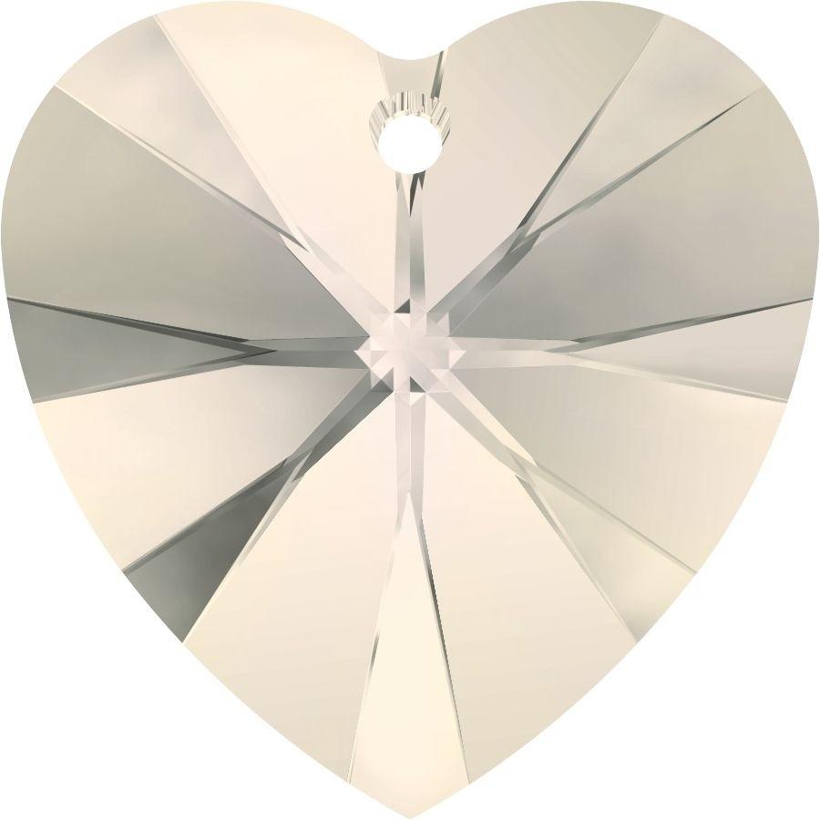 Xilion Heart Anhänger 18x17.5mm Crystal Moonlight