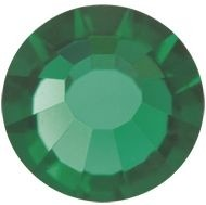 VIVA12 Rose Hotfix Strass ss6 Emerald HF