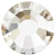 VIVA12 Rose Hotfix Strass ss10 Crystal Argent Flare HF