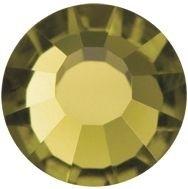 VIVA12 Rose Hotfix Strass ss34 Gold Beryl HF