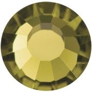 VIVA12 Rose Hotfix Strass ss8 Gold Beryl HF