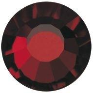 VIVA12 Rose Hotfix Strass ss10 Garnet HF