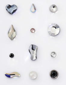 Swarovski Flat-Back Stones Hotfix