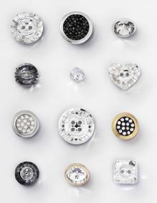 Swarovski Buttons Fasteners Zippers