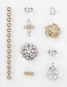 Swarovski Cup Chains Findings